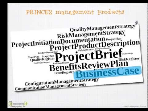 PRINCE2 Training - Project Management Products